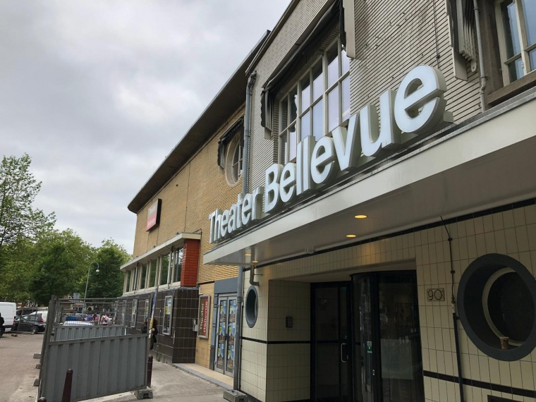 Gevel theater Bellevue